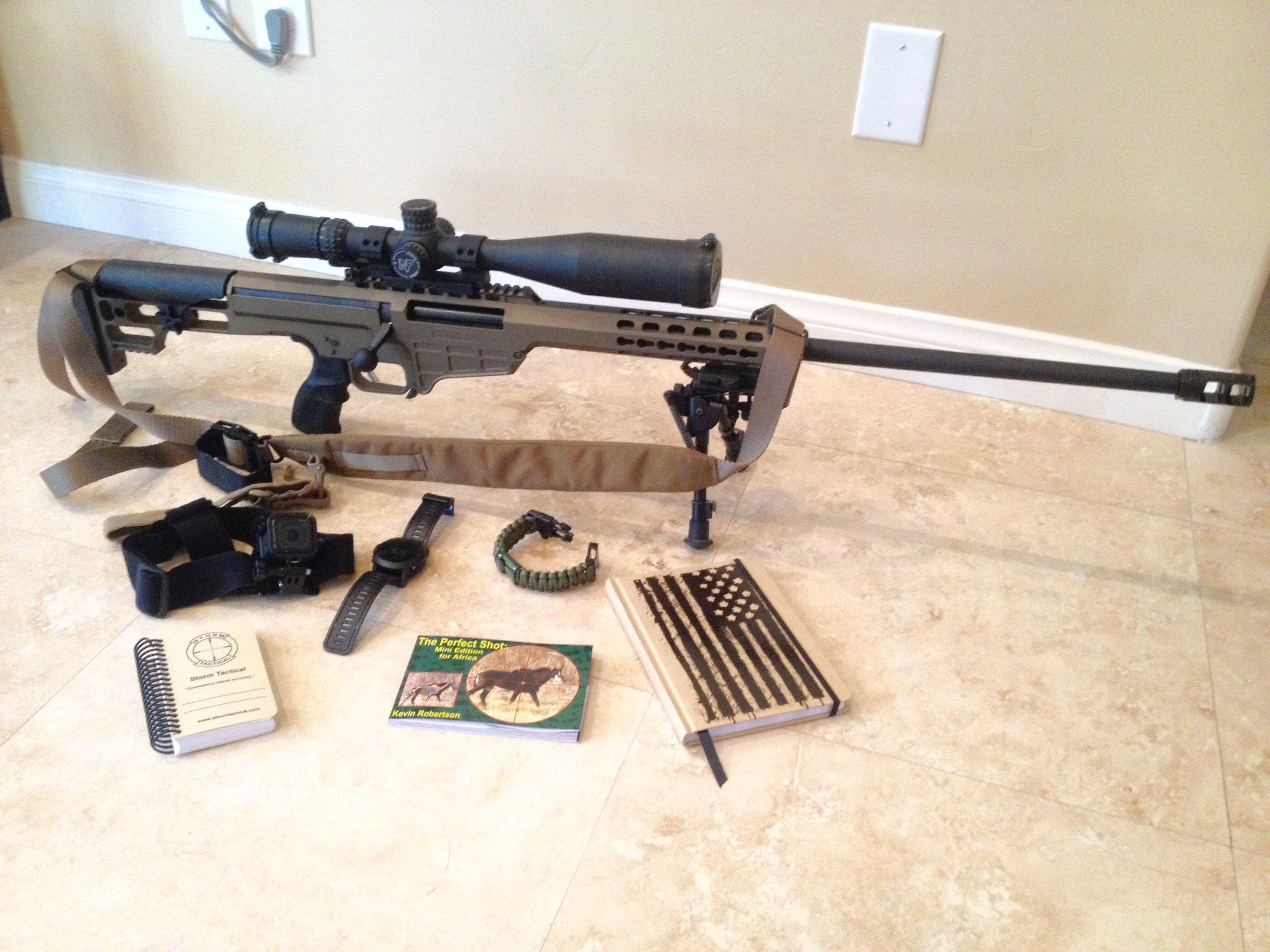 Harris Bipod Barrett M98b Bolt Action Rifle